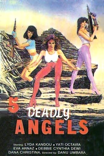 Five Deadly Angels Poster
