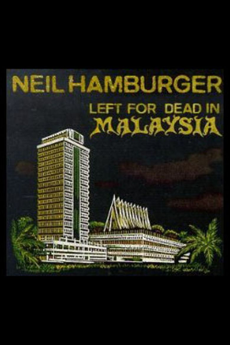 Neil Hamburger: Left for Dead in Malaysia Poster