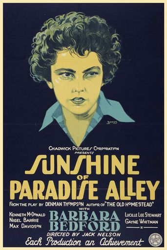 Sunshine of Paradise Alley Poster