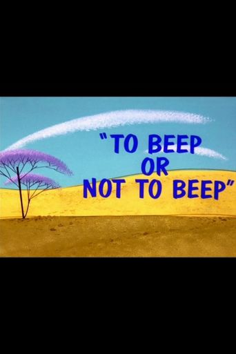 To Beep or Not to Beep Poster