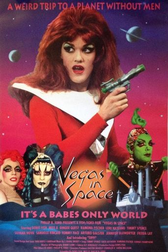 Vegas in Space Poster