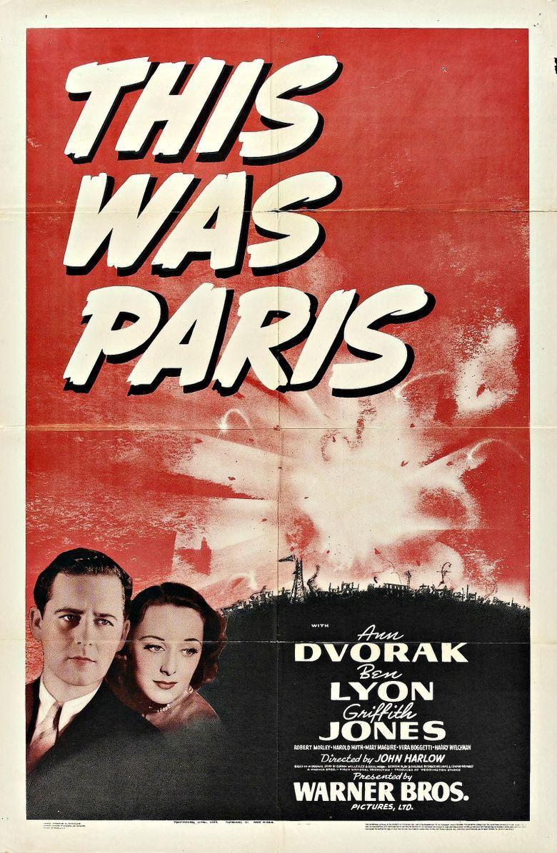 This Was Paris Poster