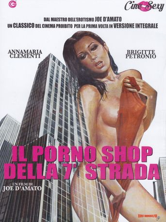 Pleasure Shop on the Avenue Poster