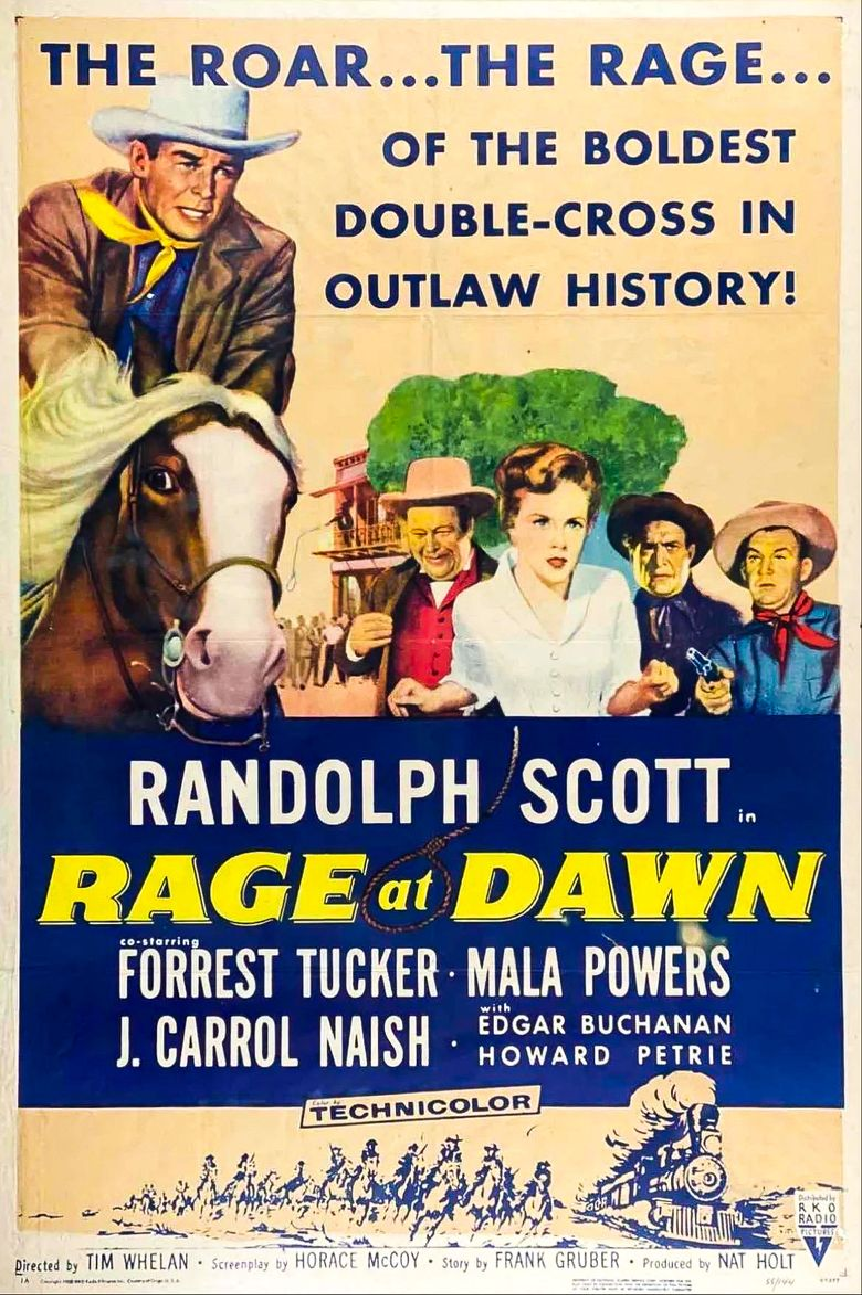 Rage at Dawn Poster