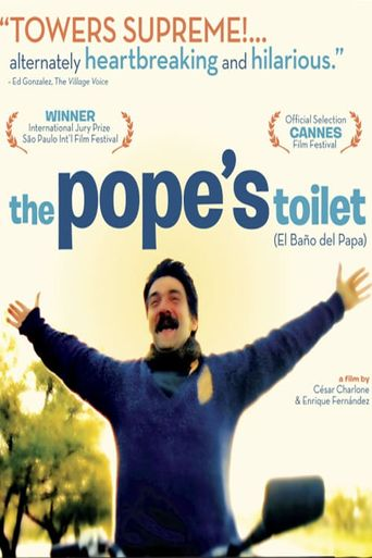 The Pope's Toilet Poster