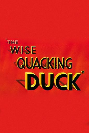 The Wise Quacking Duck Poster