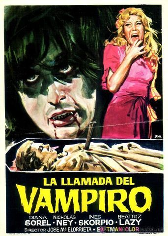Call of the Vampire Poster