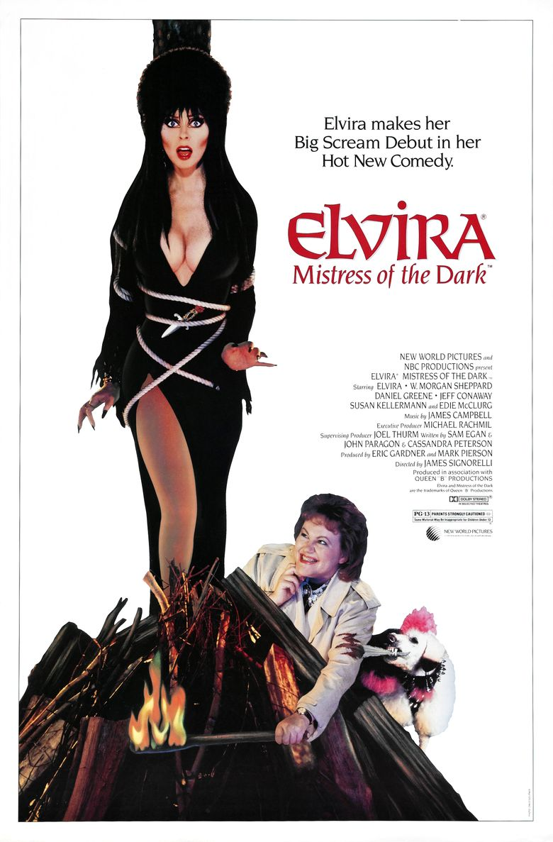 Elvira, Mistress of the Dark Poster