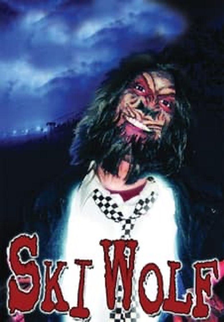 Ski Wolf Poster