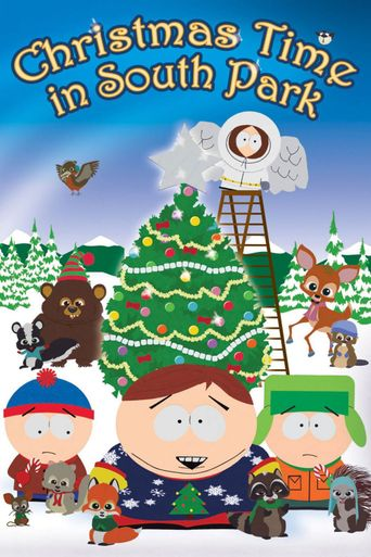Christmas Time In South Park Poster