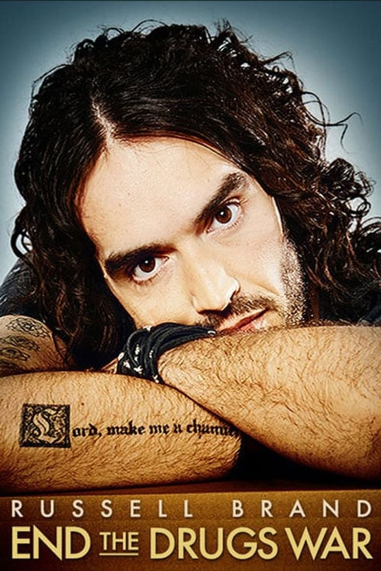 Russell Brand: End the Drugs War Poster
