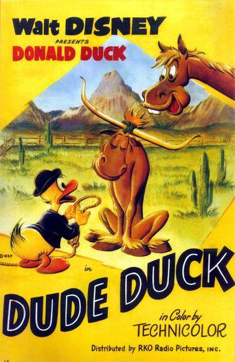Dude Duck Poster