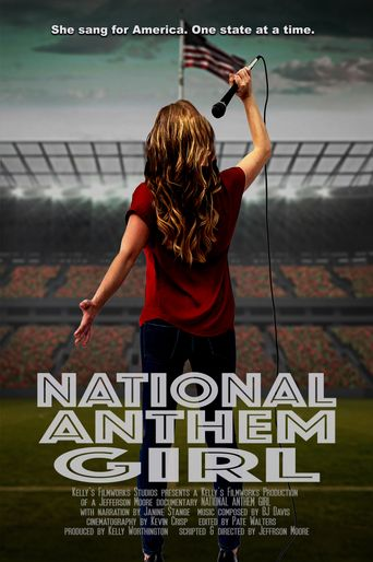 National Anthem Girl Poster
