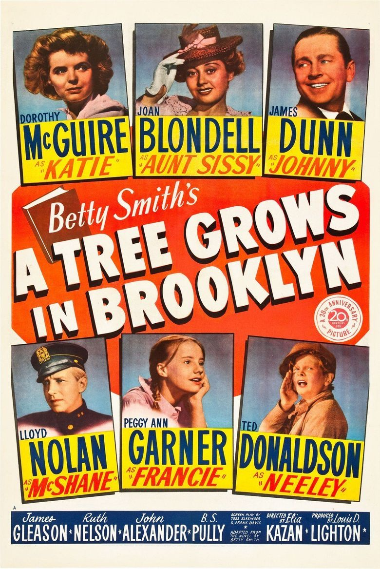 A Tree Grows in Brooklyn Poster