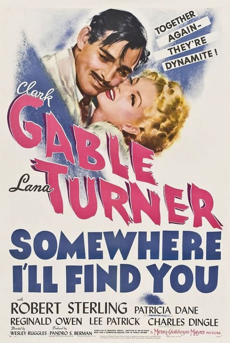Somewhere I'll Find You Poster