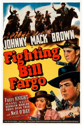 Fighting Bill Fargo Poster