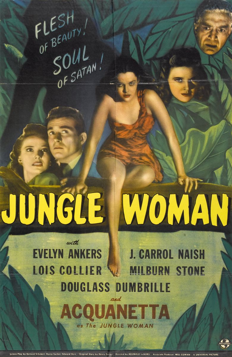 Jungle Woman Poster