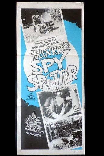 Blinker's Spy-Spotter Poster