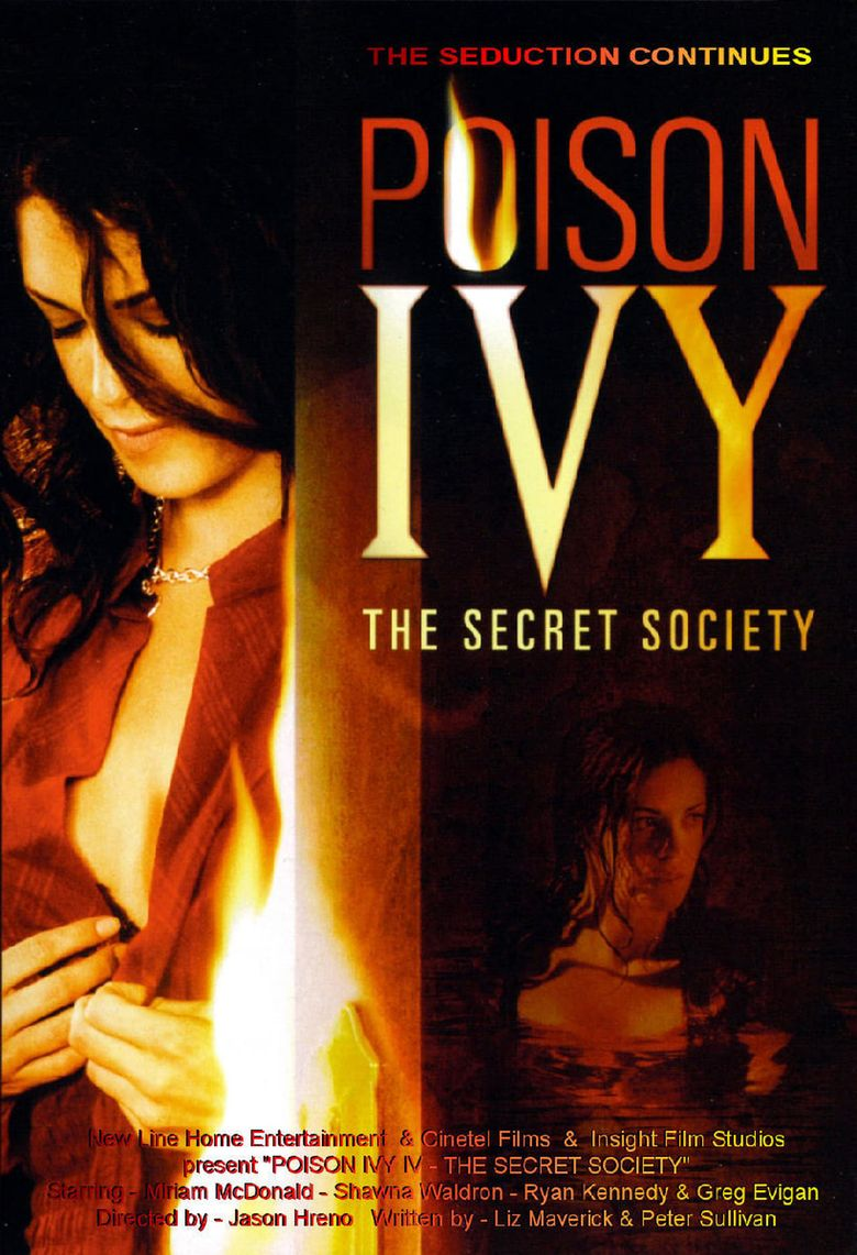 Poison Ivy: The Secret Society Poster