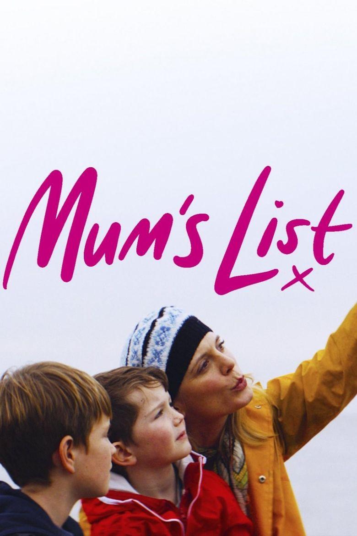 Mum's List Poster