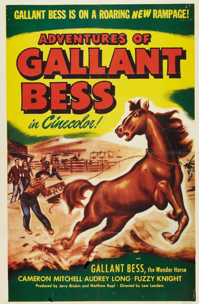 Adventures of Gallant Bess Poster