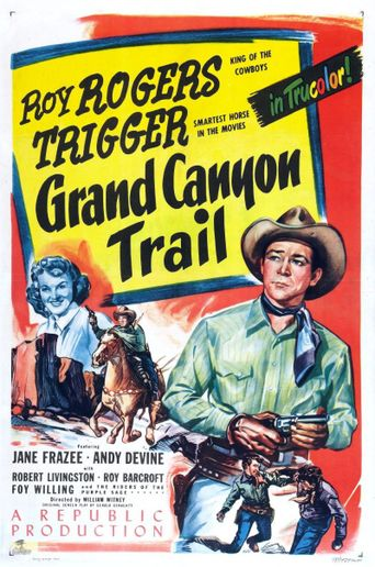 Grand Canyon Trail Poster