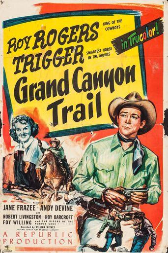 Grand Canyon Trail Poster