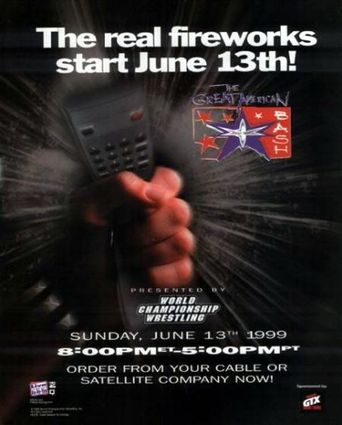 WCW The Great American Bash 1999 Poster