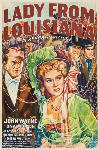 Lady from Louisiana Poster