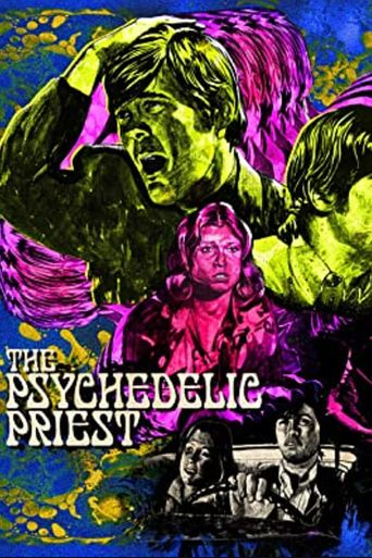 The Psychedelic Priest Poster