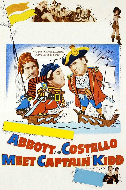 Abbott and Costello Meet Captain Kidd Poster