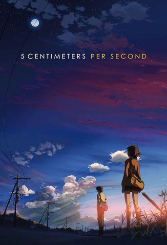 5 Centimeters Per Second Poster