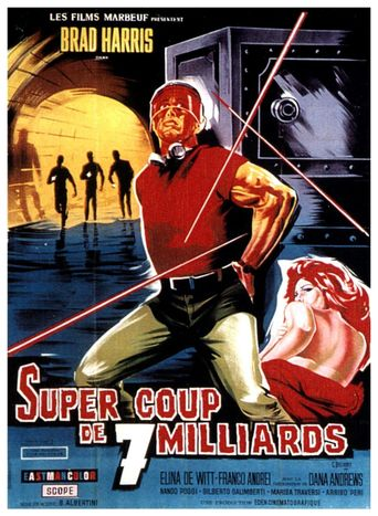 The Ten Million Dollar Grab Poster