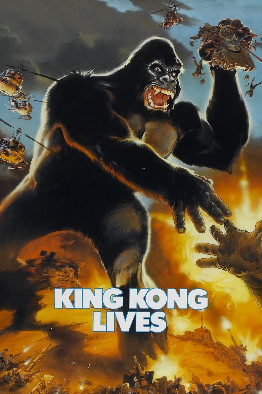 King Kong Lives Poster
