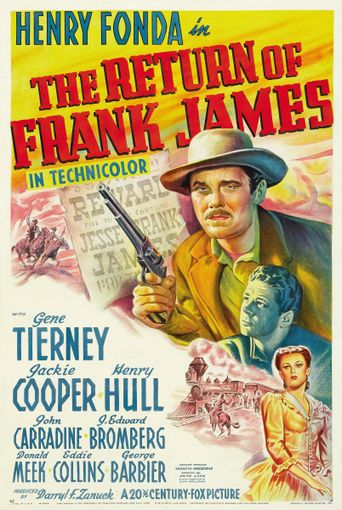 The Return of Frank James Poster