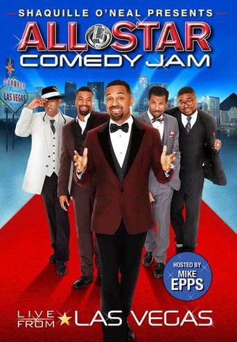 Shaquille O'Neal Presents: All Star Comedy Jam - Live from Las Vegas Poster