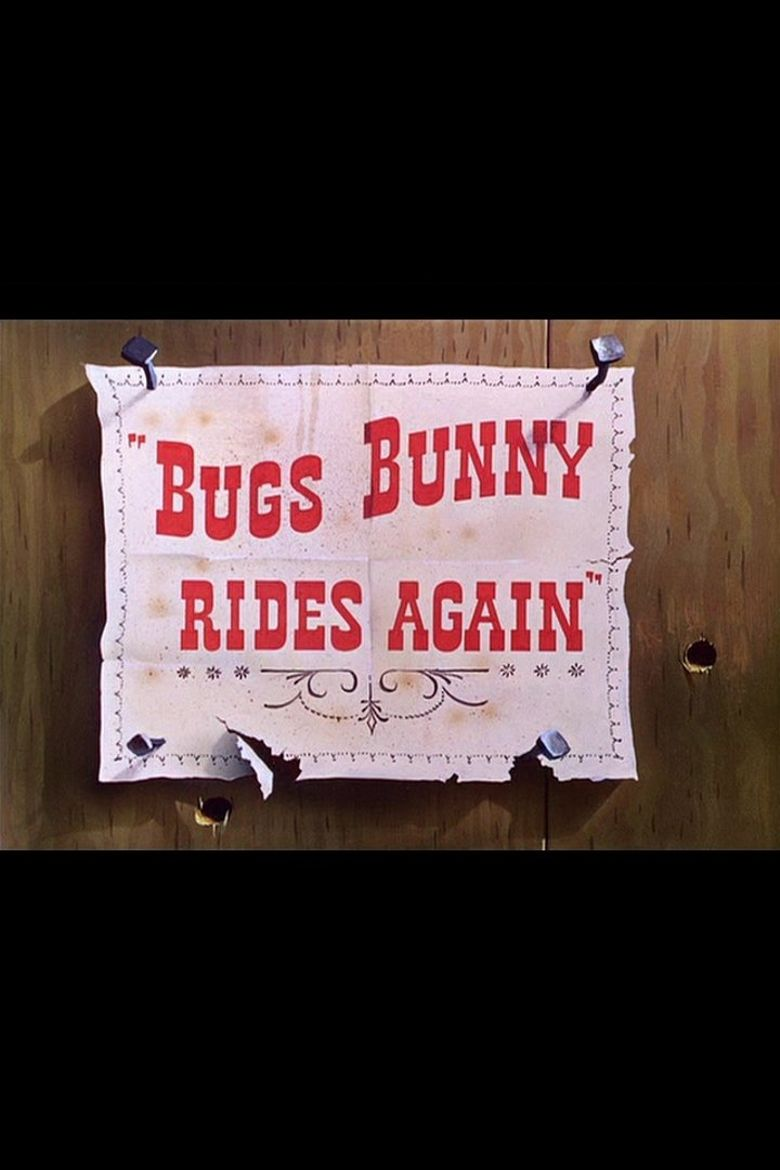 Bugs Bunny Rides Again Poster