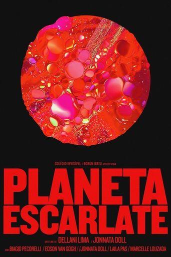 Planeta Escarlate Poster