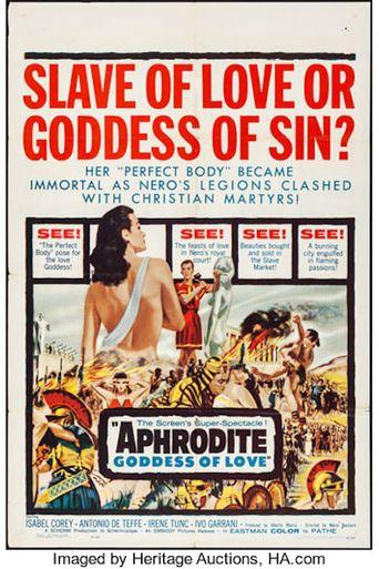 Aphrodite, Goddess of Love Poster