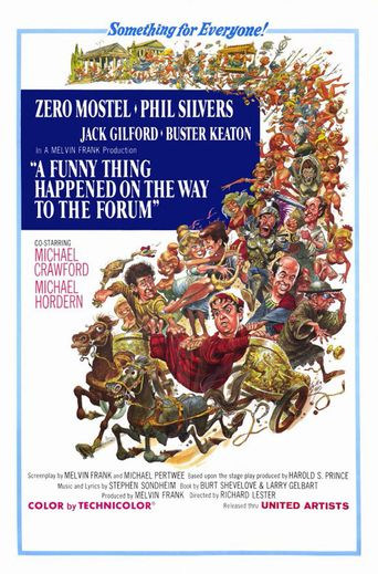 Watch A Funny Thing Happened on the Way to the Forum