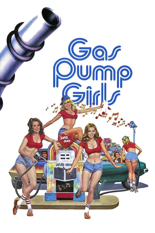 Gas Pump Girls Poster