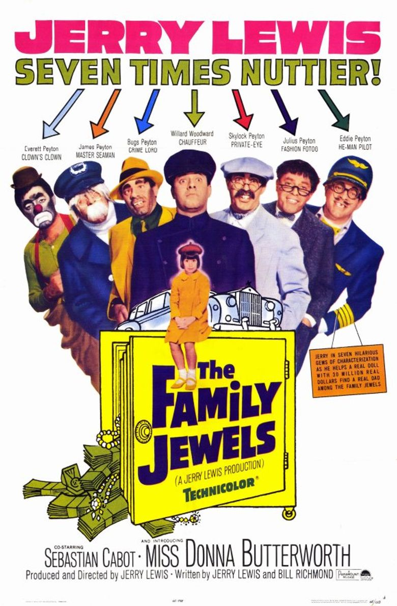 The Family Jewels Poster