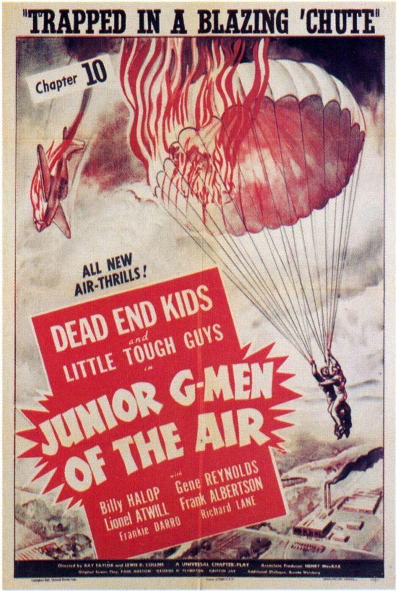 Junior G-Men of the Air Poster
