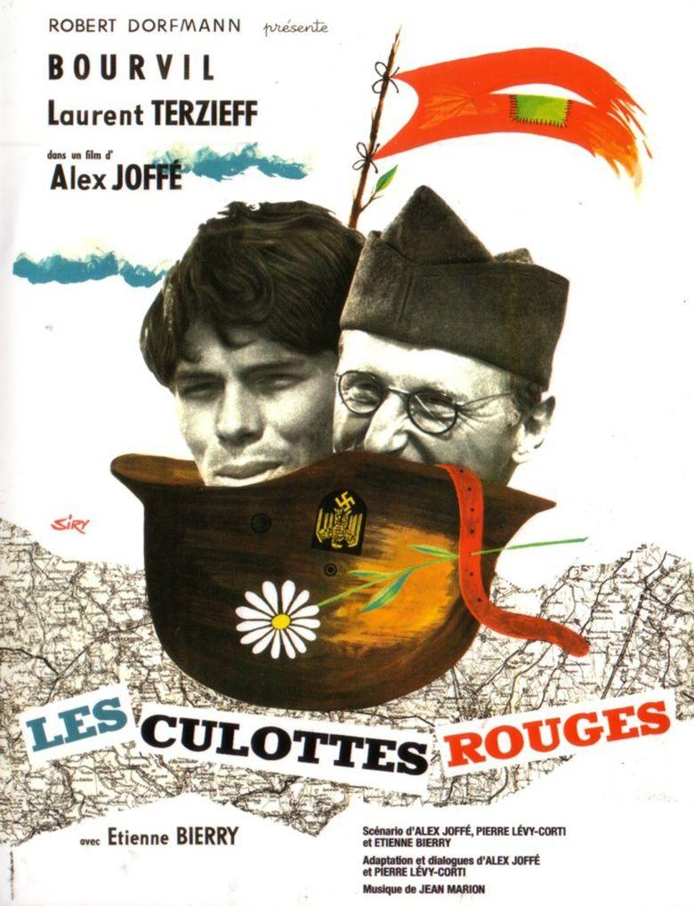 Les culottes rouges Poster