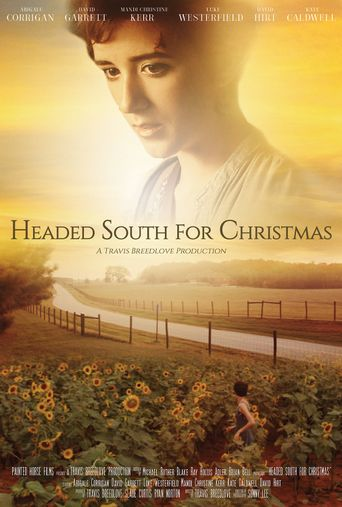 Headed South for Christmas Poster