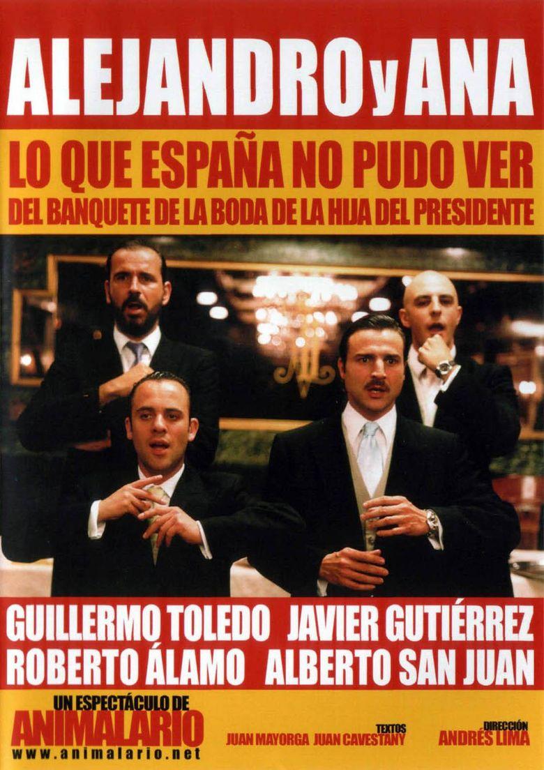 Alejandro y Ana: lo que España no pudo ver del banquete de la boda de la hija del presidente Poster