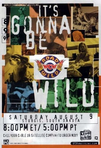 WCW Road Wild 1997 Poster