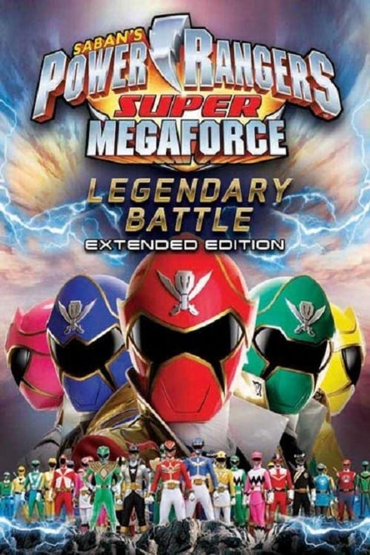 Power Rangers Super Megaforce: The Legendary Battle Poster