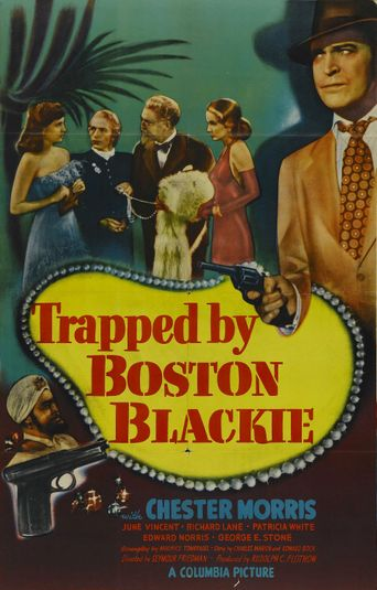Trapped by Boston Blackie Poster