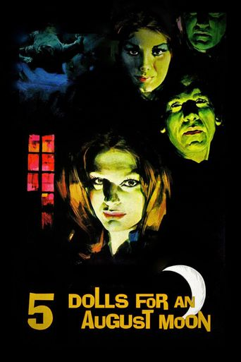 Five Dolls for an August Moon Poster